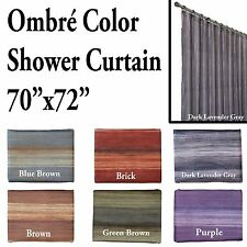 Unique Multi-Color Ombre SHOWER Curtain