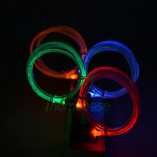4x USB Visible LED Light  Data Sync Cable Charger for Samsung Galaxy Note 3 S5 V