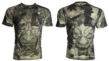 Xtreme Couture AFFLICTION Mens T-Shirt HEROES DEMONS Tattoo Biker UFC L 2XL $32