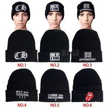 Stylish Women Men Boy Girl UNISEX Warm Hip-Hop Knit Cap Hat Beanie Headdress