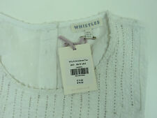 """Whistles """"Milly"""" Blouse/Shirt. Sizes 6 & 8. Label Price £75, Brand New With Tags"""