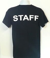 STAFF New Men's T-Shirt Events Party Wedding Bouncer Dope Swag