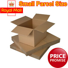 Royal Mail Small Parcel Size Postal Cardboard Boxes Shipping Cartons Single Wall