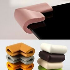 4Pcs Baby Safety Protector Glass Table Desk Corners Edge Cushion Guard Bumper U