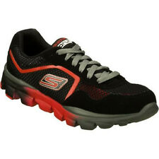 """Skechers Boys """"Supreme Athletic"""" 95672L Go Run Ride Black Red Tennis Shoes SIZES"""