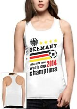 Germany World Cup Champions Racerback Tank Top Soccer National Team 2014 Winners