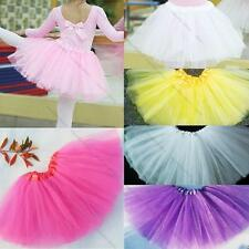 Girls Kids Tutu Party Ballet Dance Wear Dress Skirt Pettiskirt Costume