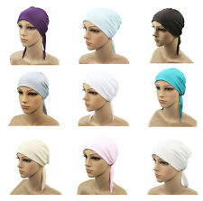 New Beautiful Muslim Inner Hijab Caps Islamic Underscarf Scarf Hats