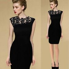 New Sexy Lace Stretch Clubwear Cocktail Evening Party Bodycon Lady Pencil Dress