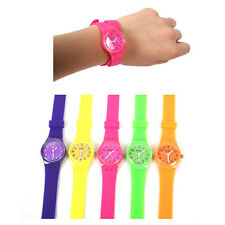 Charming Students Jelly Rubber Candy Girls Womens Wrist Watch Gift Club WATCHES
