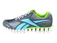 [J81447] REEBOK PREMIER ZIGFLY SE MEN GRAPHITE/BLUE/GREEN SIZE 10 TO 12 NIB
