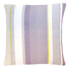 Hand Made Laura Ashley Eaton Stripe Amethyst Cushion Cover In Various Sizes
