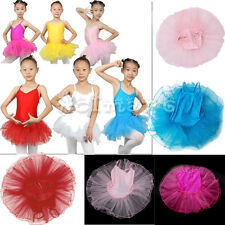 FAIRY BALLET DANCE DRESS STRAP TUTU GYMNASTIC LEOTARD FOR 4T 5T 6T 7T KIDS GIRLS