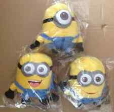 """Despicable Me Plush Soft Toy MINIONS Movie 3D Eye Doll 6"""" Yellow"""