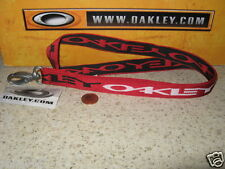 NEW OAKLEY STRETCH LANYARD KEYCHAIN ID HOLDER Rare SI ELITE TACTICAL