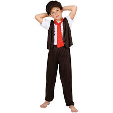 ARTFUL DODGER VICTORIAN BOY KIDS CHILDS DICKENS STORYBOOK FANCY DRESS COSTUME