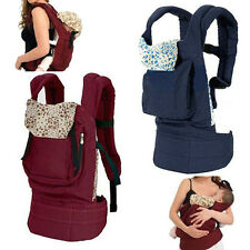 New Cotton Baby Newborn Carrier Infant Comfort Backpack Sling Wrap Perfect