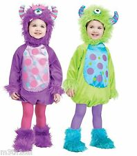 Baby Child Toddler Hairy Monster Suit Infant Cute Halloween Costume Up to 24M