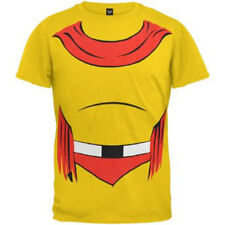 NEW Licensed MIGHTY MOUSE COSTUMES T Shirt funny halloween superhero SALE!!!