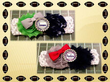 NFL INSPIRED HANDMADE CROCHET HEADBAND-Baby & Toddler