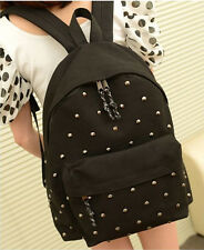 2014 New Arrival Women's Canvas School Book Backpack Fashion Star Leisure Bag
