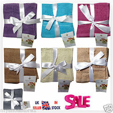 BRAND NEW 100% COTTON FACE TOWELS FLANNELS WASH CLOTHS GYM HAND NECK GIFT PACKED