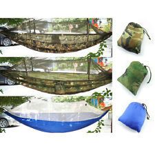 Portable Jungle Outdoor Hammock Mosquito net for Travel Camping Single one