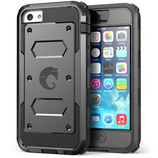 i-Blason iPhone 5C Case - Armorbox Dual Layer Hybrid Protective Case with Screen
