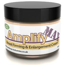 Amplify MAX Premium Breast Firming Enlargement Cream Boost Your Bust Organic