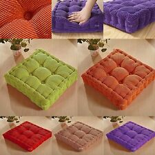Dining Garden Office Chair Seat Cushion Pad with Corduroy Cover - Soft and Thick
