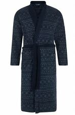 Luxury Men's Thermal Coral Fleece Nordic Bath Robe All Sizes Ex Chain Store