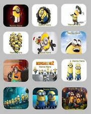 Despicable Me Mouse Pad / Mousepad 12 design choices personalized with any name