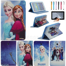 Cute Frozen Image Case Cover For Samsung Galaxy Tab 3 7.0 T210 T211 P3200 P3210