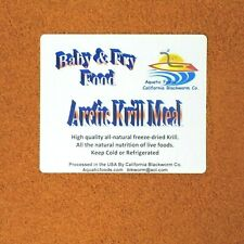 Arctic Krill Powder Fry & Baby Food