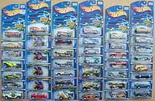 2002 Hot Wheels Choice Lot All Different With Variations #145 To #232 Lot 3of 3
