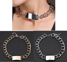 Hot Selling New Fashion Punk Big  Chain Choker Bib Necklace A1711b