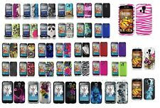 Kyocera Hydro Icon C6730 Life C6530 Hard Case Phone Cover+Free Screen Protector
