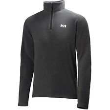Helly Hansen Daybreaker Half Zip Mens Fleece Black Jackets Ebony All Sizes
