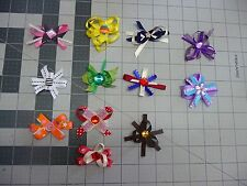 2 inch Medium Handmade Exchangeable BOWS for Carols Crate Cover Dog Items