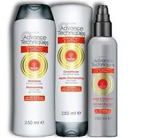 Avon Advance Techniques Strengthen & Protect Hair System Shampoo Con Leave in