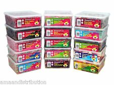 SWEETZONE JELLY FIZZY PENCILS CANDY SWEETS TUBS VARIOUS VARIETIES 100% HALAL HMC