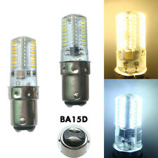 BA15D 2.6W 64 3014 SMD LED Light Corn Bulb for Sewing Machine 110/220V Silicone