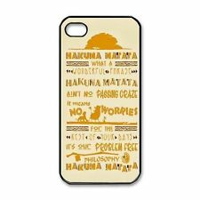 HAKUNA MATATA NO WORRIES Quotes For iPhone 5 5S 4S 5C Case Back Cover