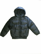 Boys Black Padded Coat with Hood 1970-10175-1401
