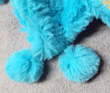 Girls Xhilarations Brand Blue or Pink Fluffly House Slipper Boots Size S/M
