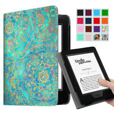 Folio Leather BookStyle Vintage Case Cover for 2015 All-New Kindle Paperwhite 6""