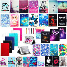 New Universal PU Leather Cover Case Stand For Alcatel OneTouch POP 7 Tablet +Pen