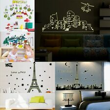 Fluorescence Noctilucent Night Glow in the Dark Vinyl Mural Wall Stickers Decal