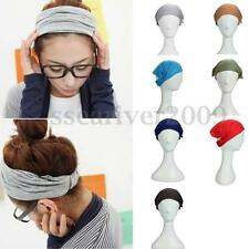 Women's Multi-function Elastic Head Band Scarf Neck Headband Wrap kerchief Hat