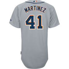 Majestic Athletic Detroit Tigers Victor Martinez Authentic Road Cool Base Jersey